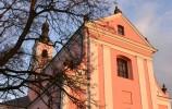 Kościół na Wigrach widziany z bliska