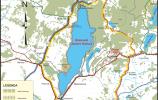 Mapka Suwalskiego Parku Krajobrazowego