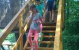 Wejście na platformę widokową