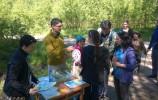 Wigierski Park Narodowy, terenowa gra edukacyjna dla rodzin z dziećmi - fot. Adam Januszewicz
