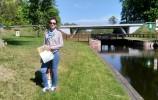 Śluza Gorczyca na Kanale Augustowskim