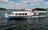 Statek Papieski Tryton na Jeziorze Wigry