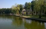 Bulwary wzdłuż rzeki Netty w Augustowie
