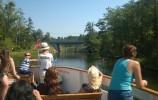Rzeka Klonownica, njakrótsza rzeka żeglowna w Polsce